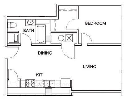 Council Bluffs Properties - Floorplan - 3 Point A2