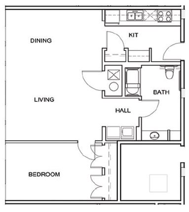 Floorplan - 3 Point A8 image