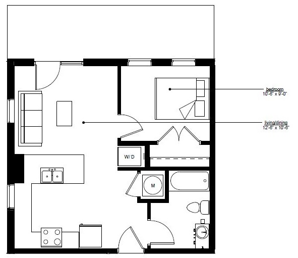 Floorplan - The Rise A.1 image