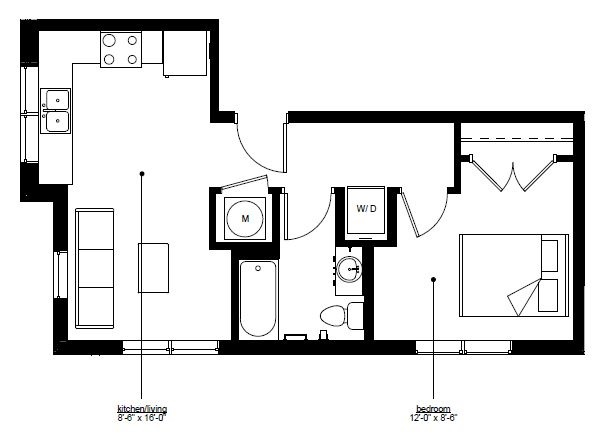 Floorplan - The Rise C image
