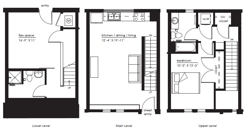 Floorplan - The Sawyer F-1 image