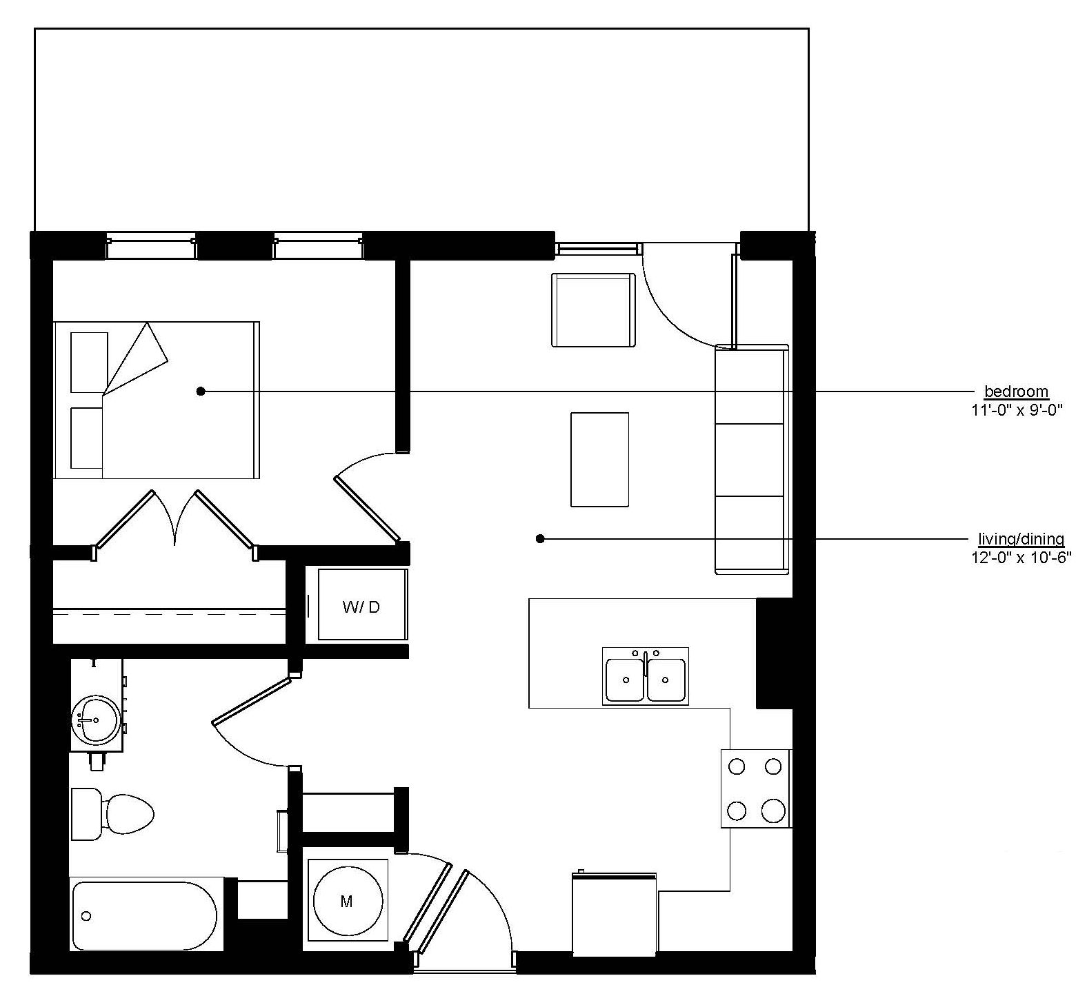Floorplan - The Rise B image