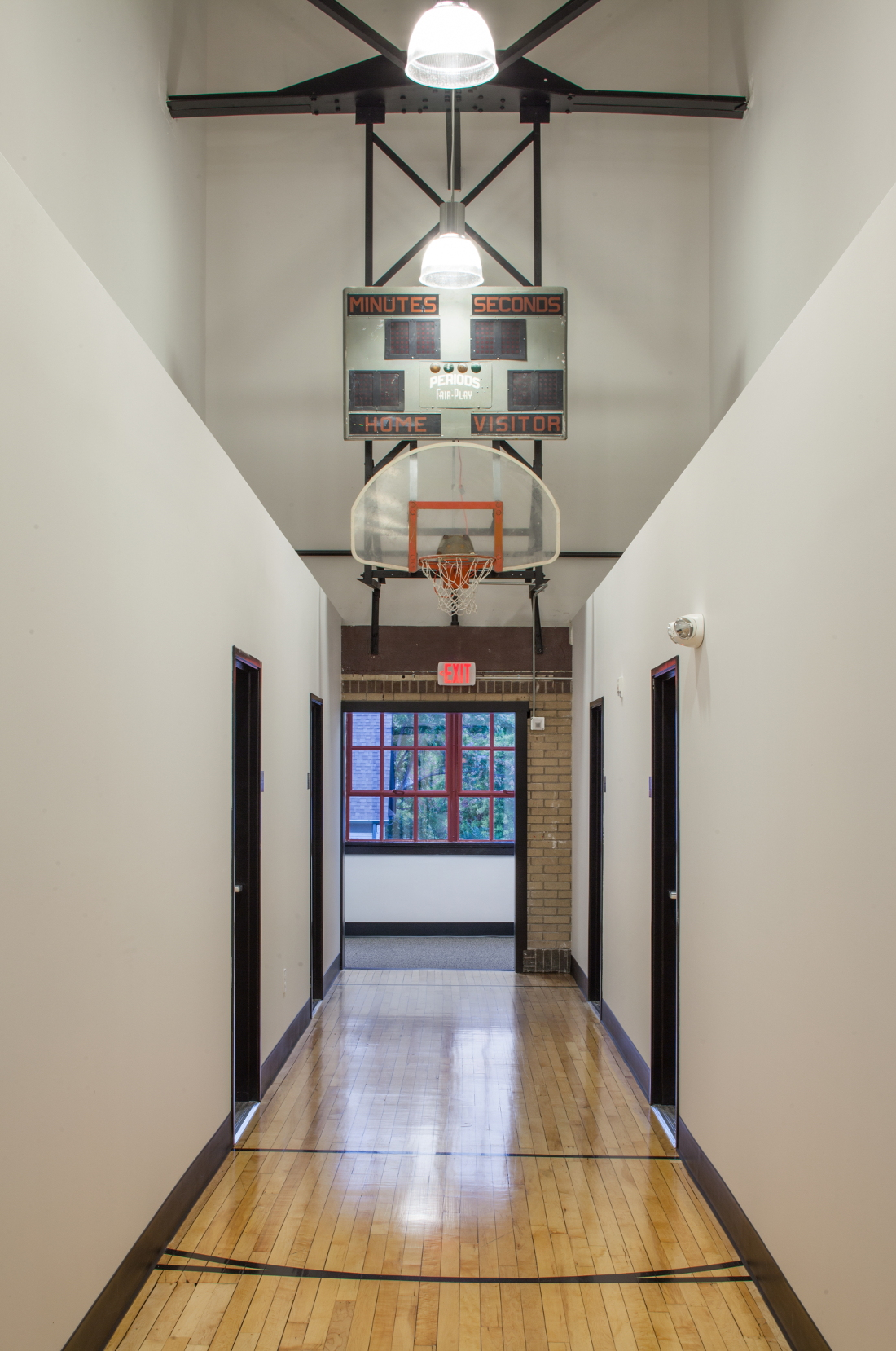 Indoor Basketball at 3 Point Apartments in Council Bluffs, IA