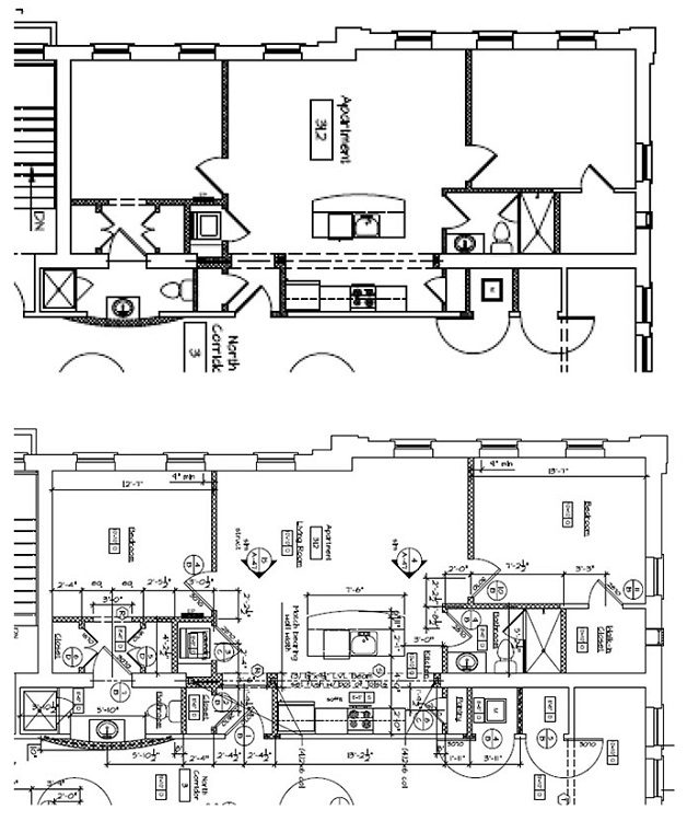 Floorplan - 2 Bedroom 2 Bath image