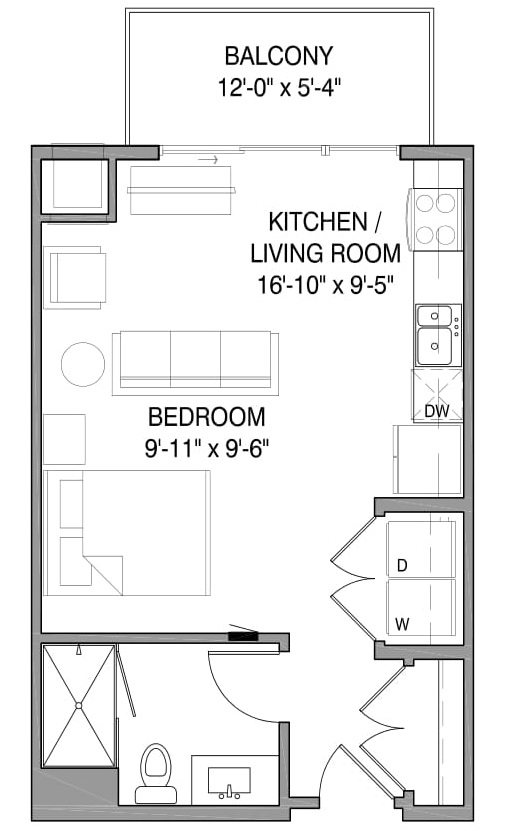 Floorplan - Avery 1 image