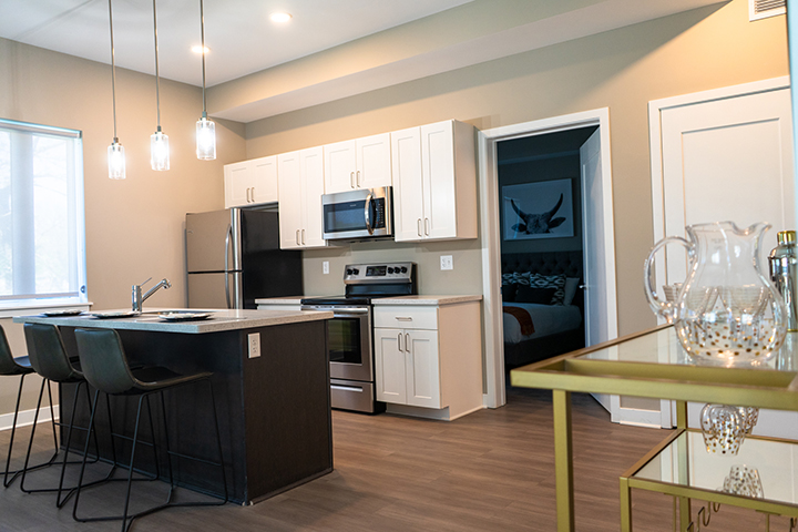 Kitchen Area at 625 S. Goodman Apartments in Rochester, New York