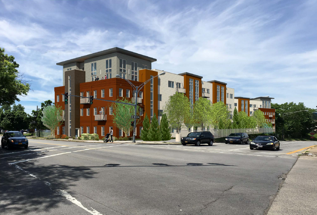 Rochester Apartment Rentals at 625 S. Goodman Apartments in Rochester, New York