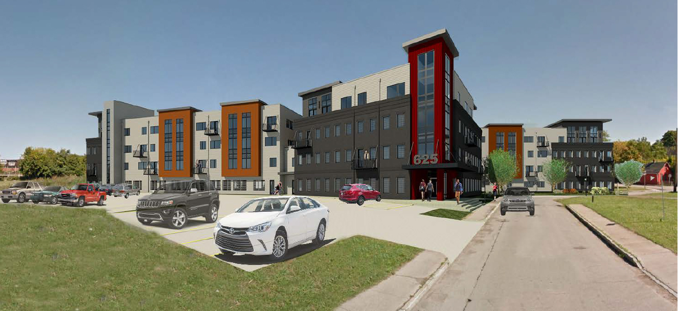 Effortless Parking at 625 S. Goodman Apartments in Rochester, New York