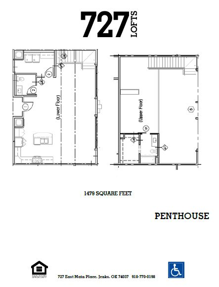 727 Lofts - Floorplan - Penthouse