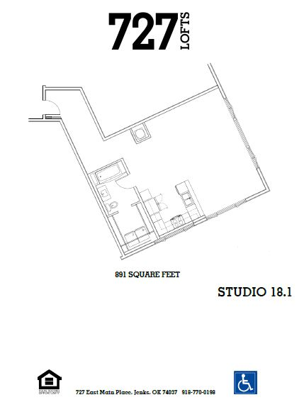 Floorplan - Studio 18 image