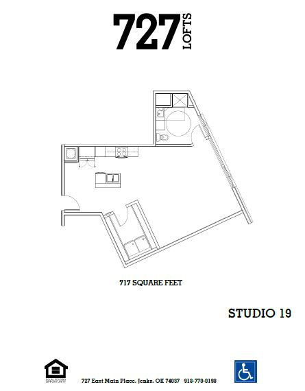 Floorplan - Studio 19 image