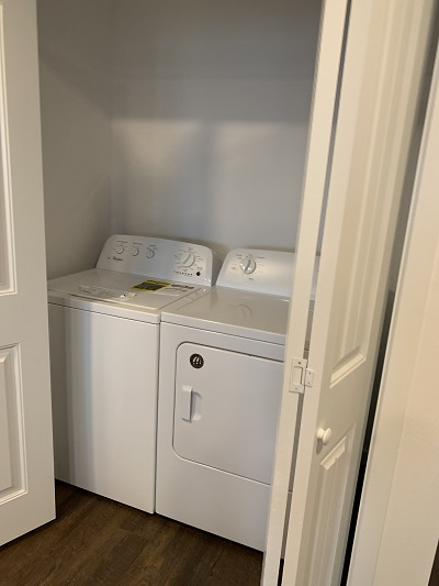 Washer and Dryer at 727 Lofts Apartments in Jenks, Oklahoma