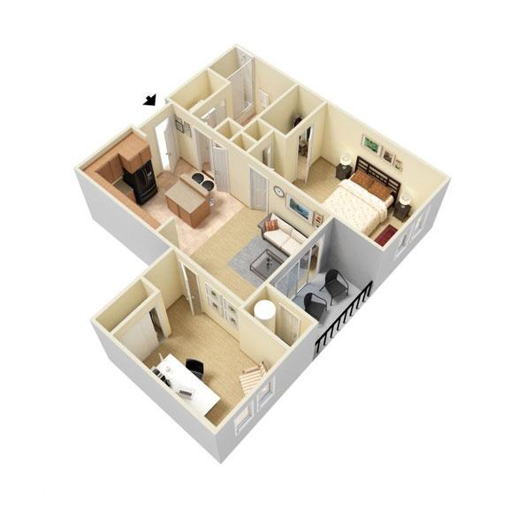 Abbey Lane - Floorplan - A2
