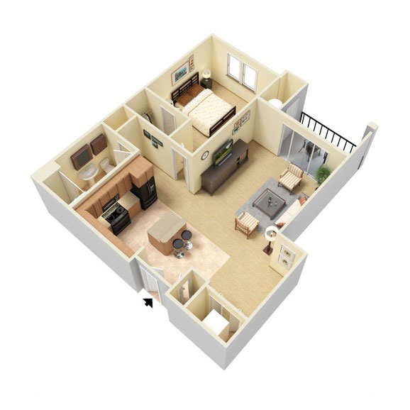 Abbey Lane - Floorplan - A3