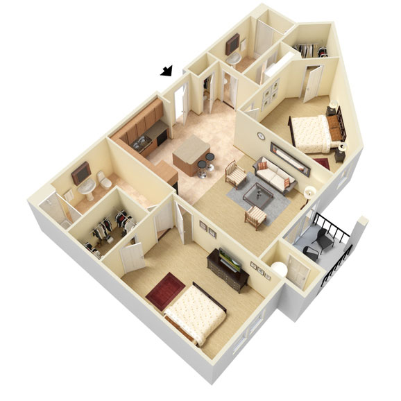 Abbey Lane - Floorplan - B2
