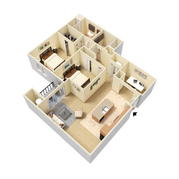Abbey Lane - Floorplan - B4
