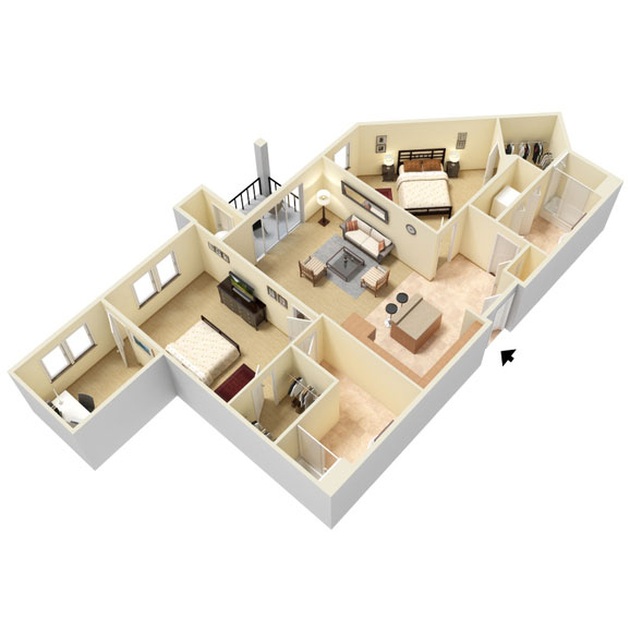 Abbey Lane - Floorplan - B5