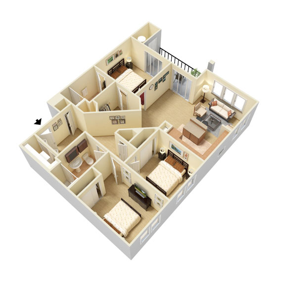 Abbey Lane - Floorplan - C1