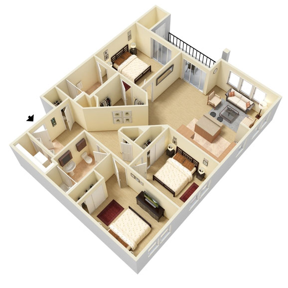 Abbey Lane - Floorplan - C2