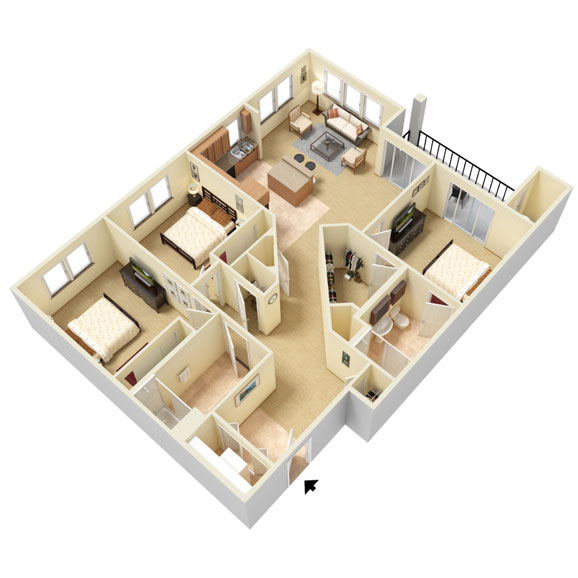 Abbey Lane - Floorplan - C3