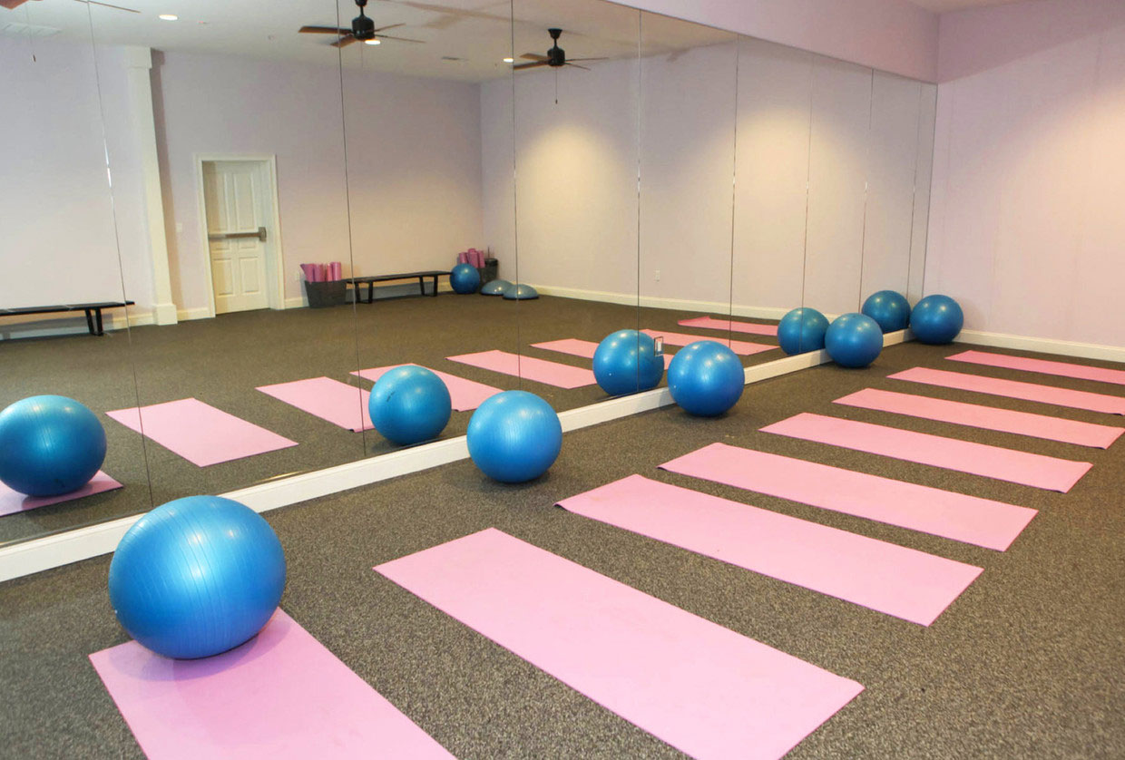 Yoga Studio at Abbey Lane Apartments in Danbury, Connecticut