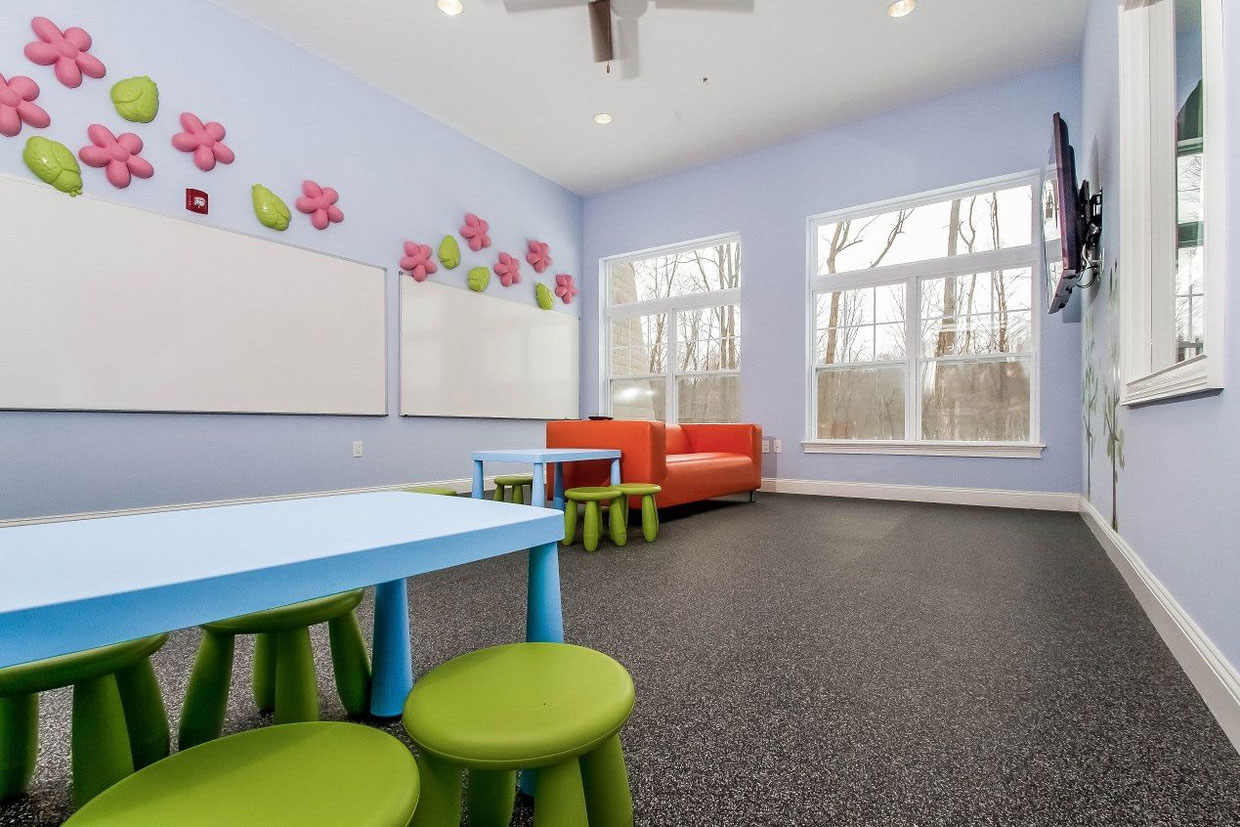 Children's Playroom at Abbey Lane Apartments in Danbury, Connecticut