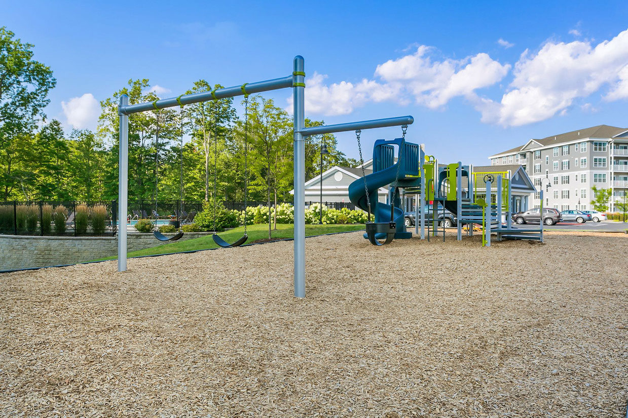 Children's Playground at Abbey Lane Apartments in Danbury, Connecticut