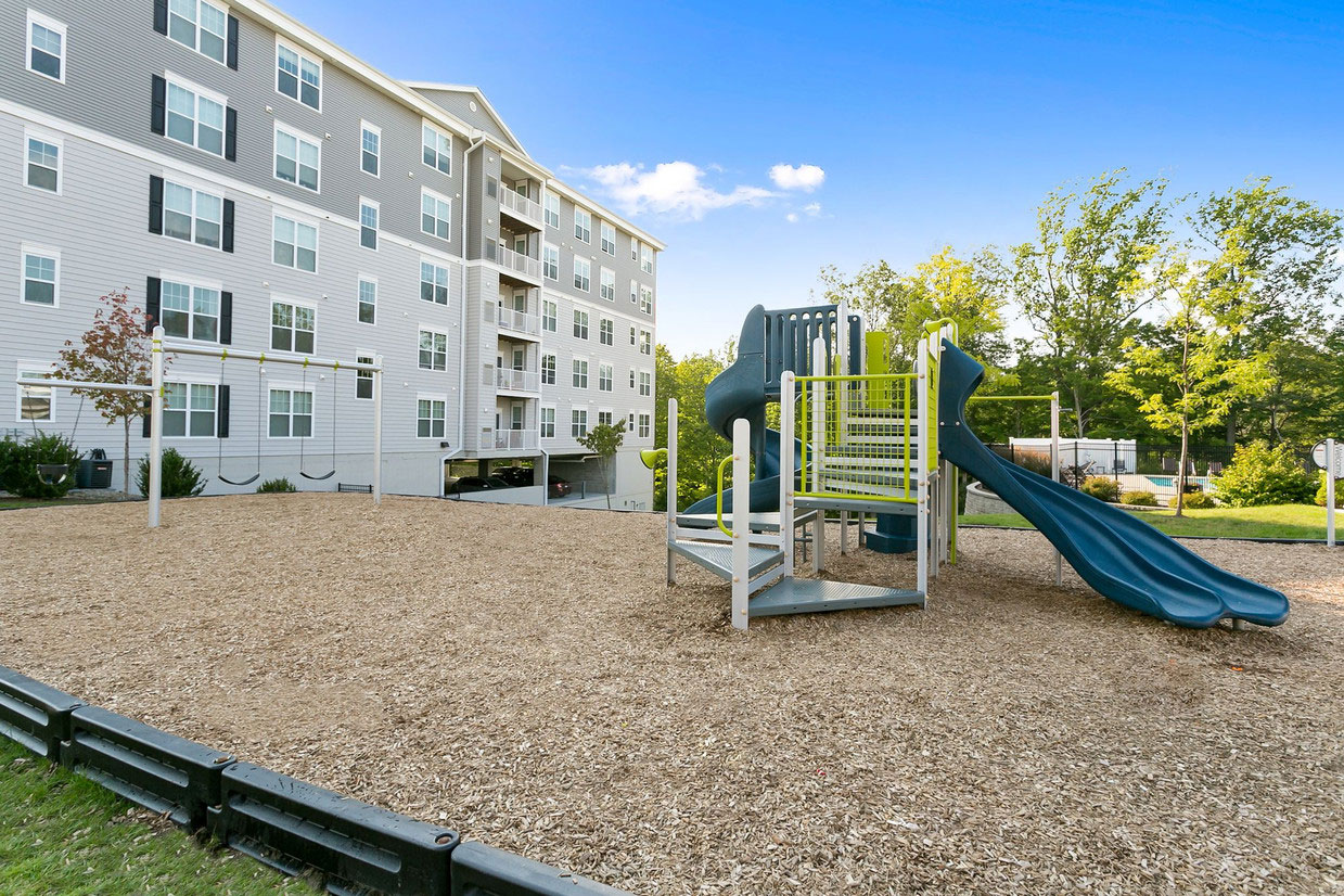 On-Site Playground at Abbey Lane Apartments in Danbury, Connecticut