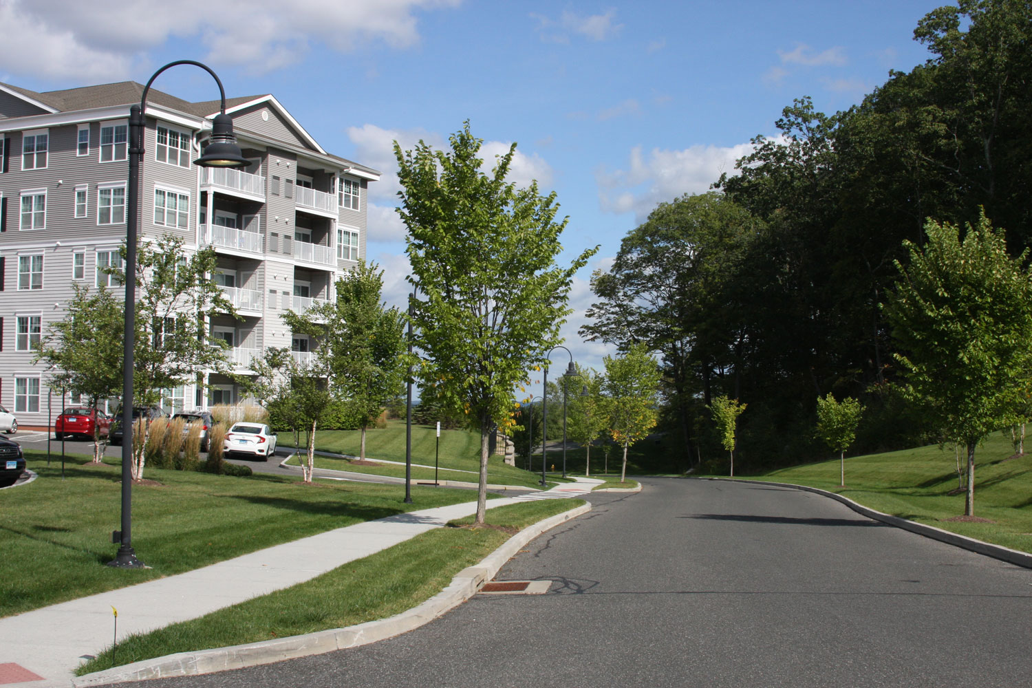 Serene Community at Abbey Lane Apartments in Danbury, Connecticut