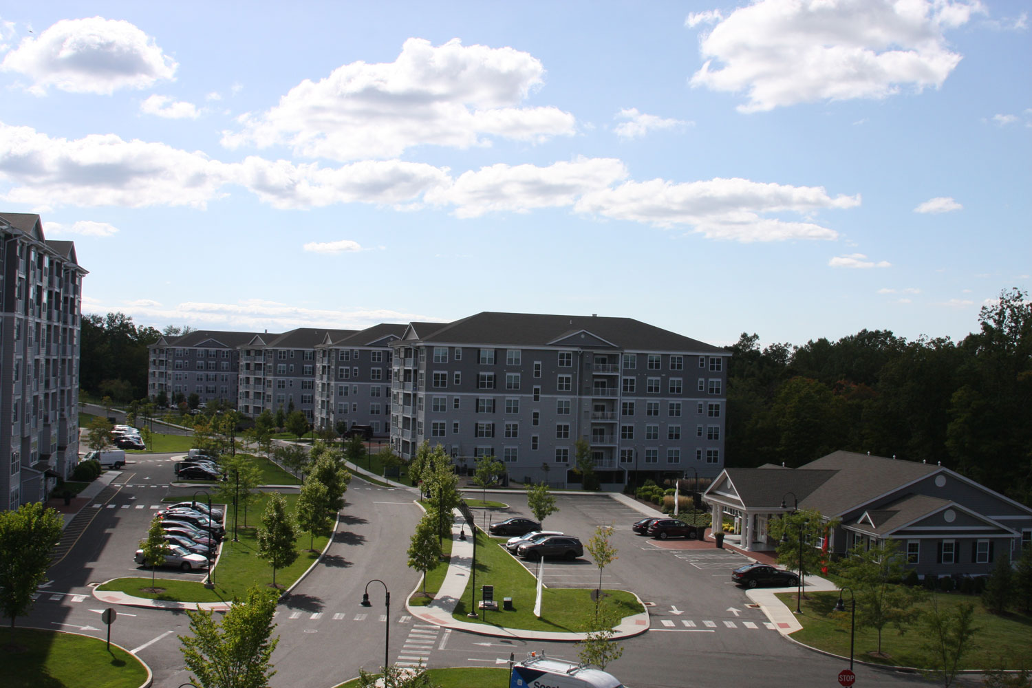 Ample Parking at Abbey Lane Apartments in Danbury, Connecticut