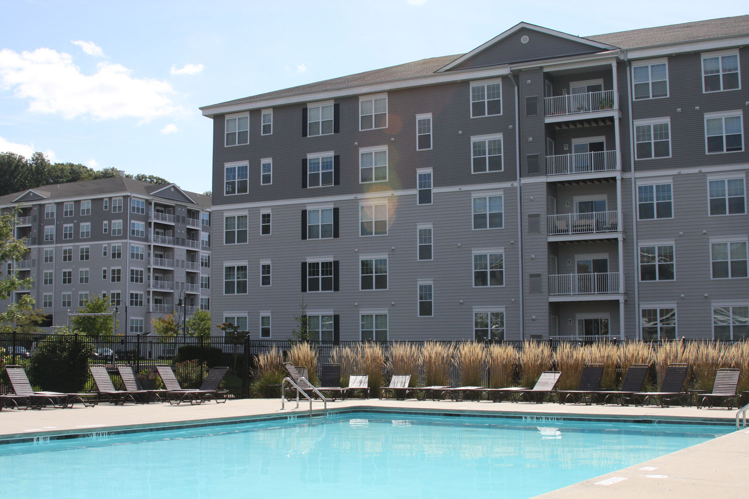 Swimming Pool at Abbey Lane Apartments in Danbury, Connecticut