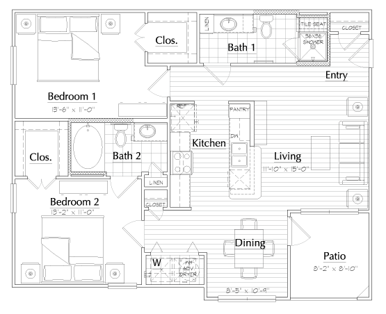 Aria at Rollingbrook - Floorplan - Opera