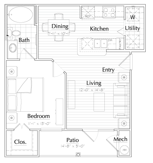 Aria at Rollingbrook - Floorplan - Harmony