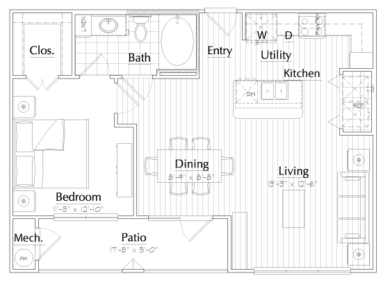 Floorplan - Melody image