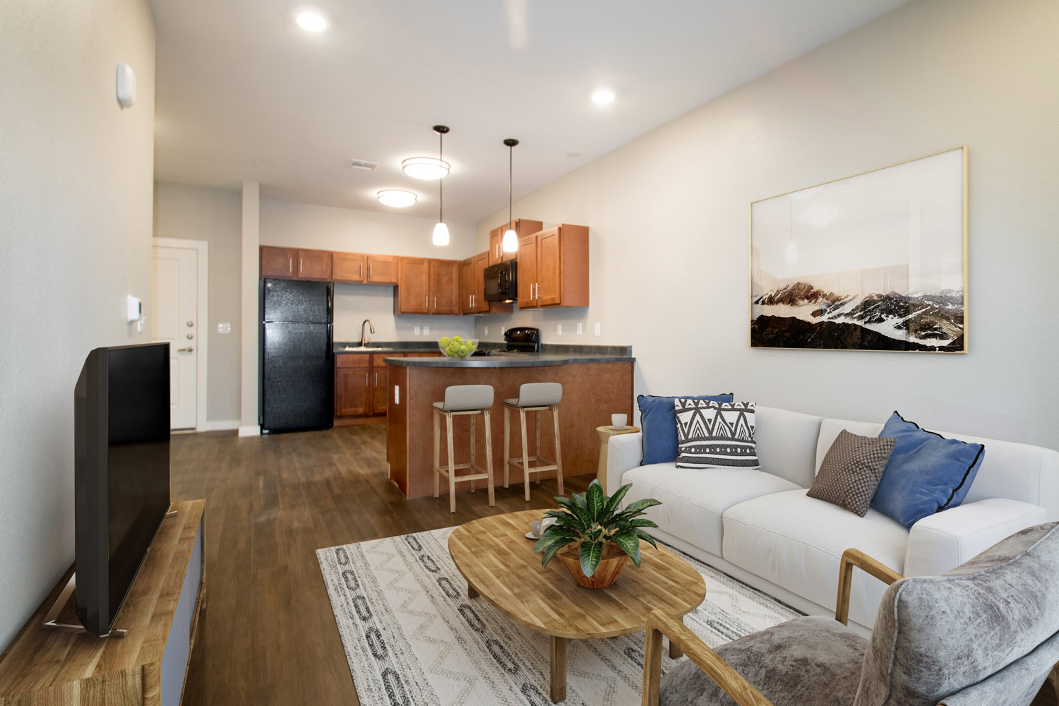 Open Floor Plans at The Residence at Alsbury Apartments in Burleson, Texas