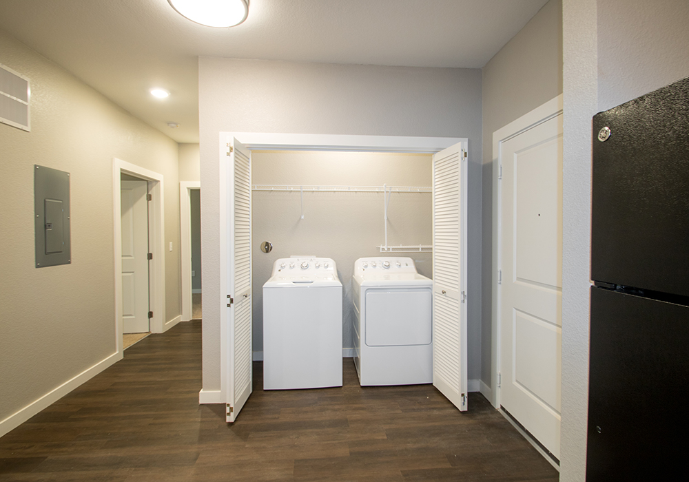 In-Unit Washer and Dryer at The Residence at Alsbury Apartments in Burleson, Texas