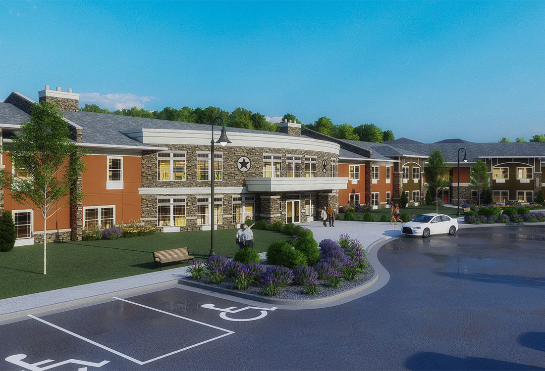 55+ Senior Apartments for Rent at The Residence at Alsbury Apartments in Burleson, Texas