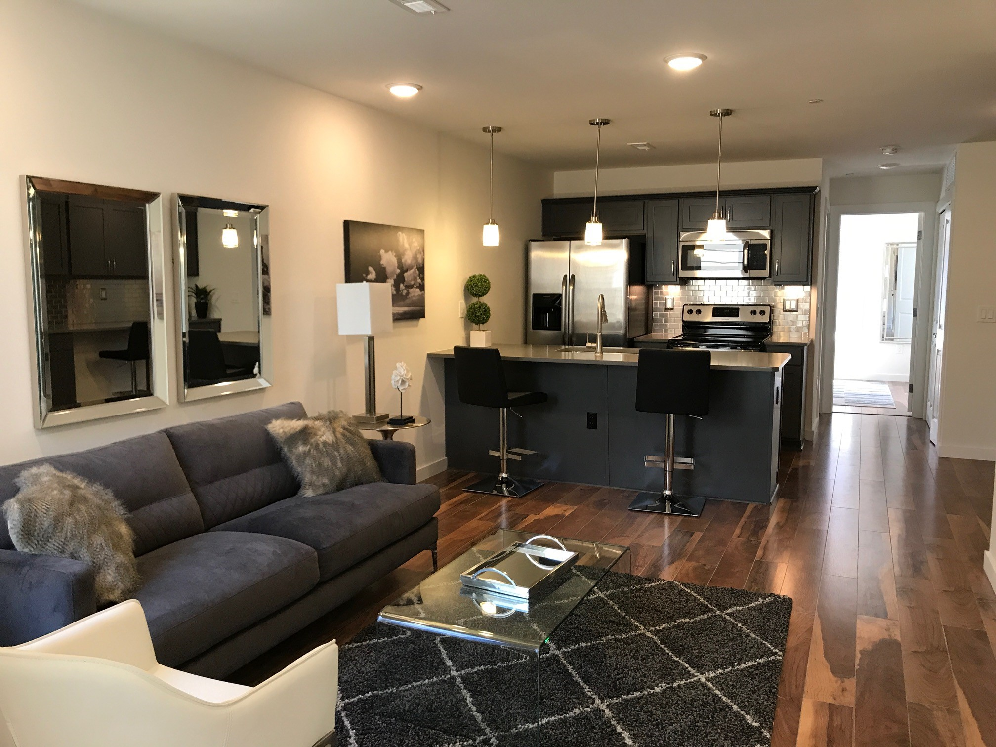 Spacious Living Room at The Annex @ Brewerytown Apartments in Philadelphia, PA