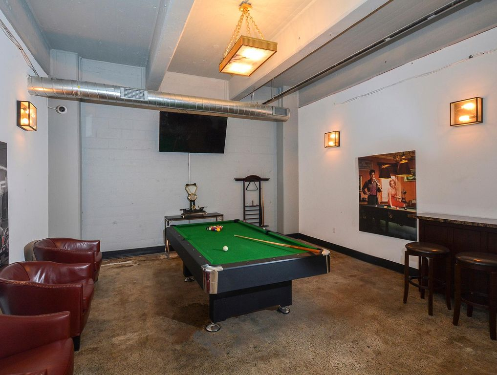 Gaming Area with Billiards at The Apartments @ Brewerytown Apartments in Philadelphia, PA