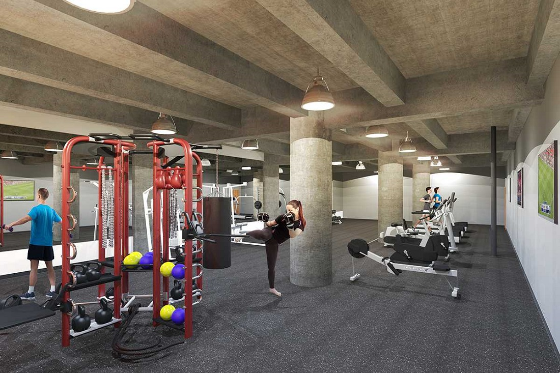 Fitness Center at The Annex @ Brewerytown Apartments in Philadelphia, PA