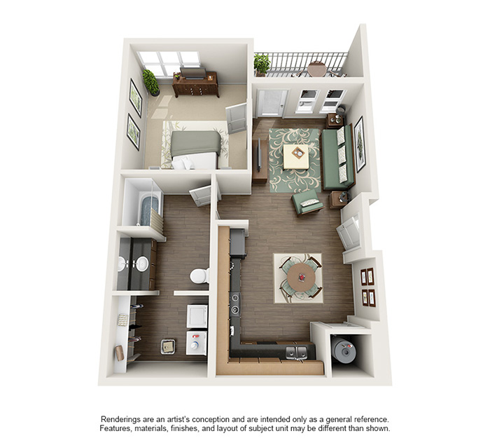 Apex 5510 Apartments - Floorplan - Geneva Peak
