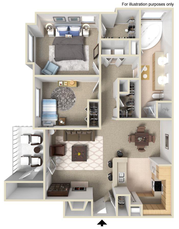 Floorplan - 2x1 image