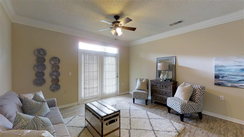 Energy-Efficient Ceiling Fans at Appling Lakes Apartments in Cordova, Tennessee