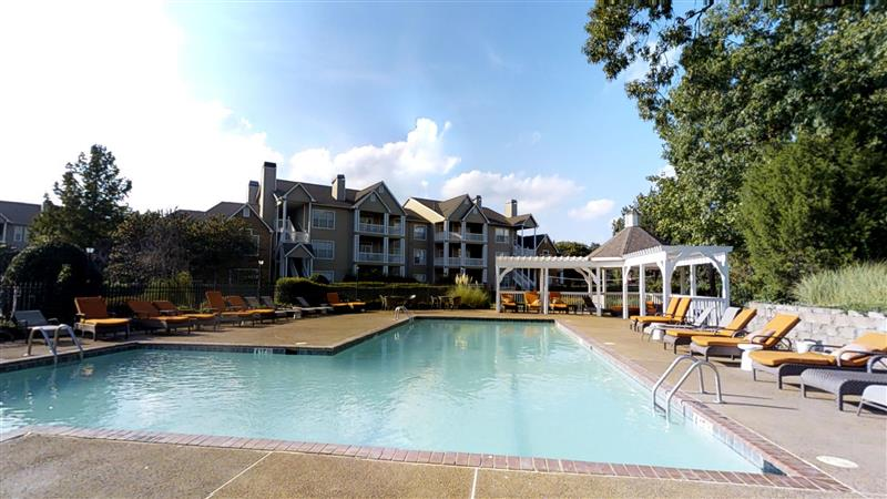 Sparkling Swimming Pool at Appling Lakes Apartments in Cordova, Tennessee