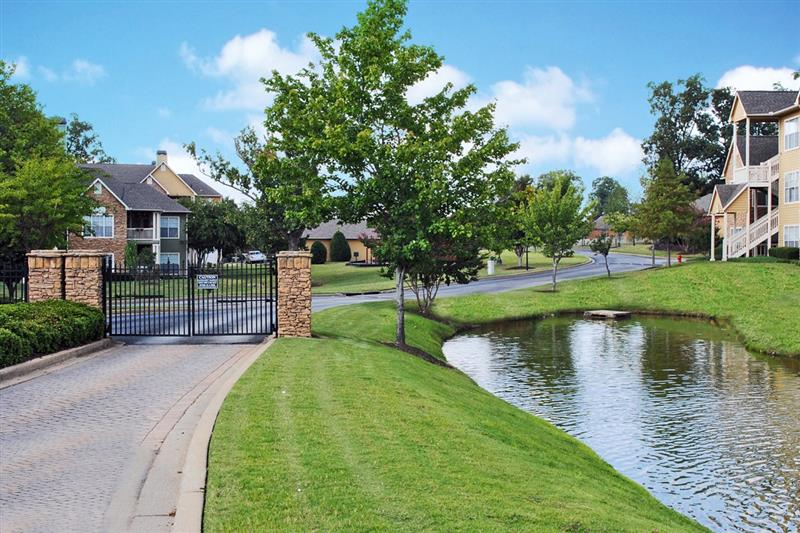 Gated Community Access at Appling Lakes Apartments in Cordova, Tennessee