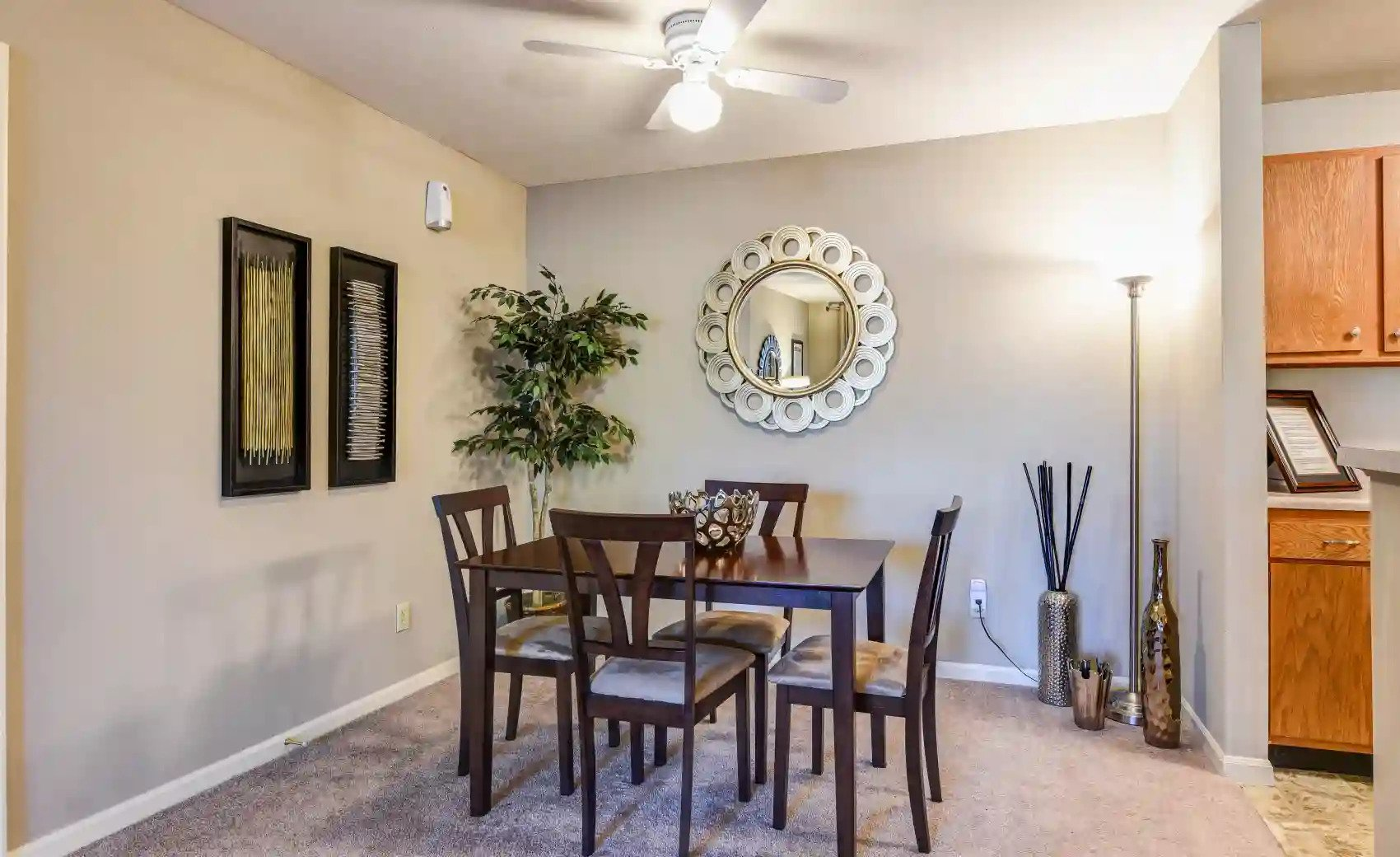 Family-Style Dining Area at Arbors of Lebanon Apartments in Lebanon, Ohio