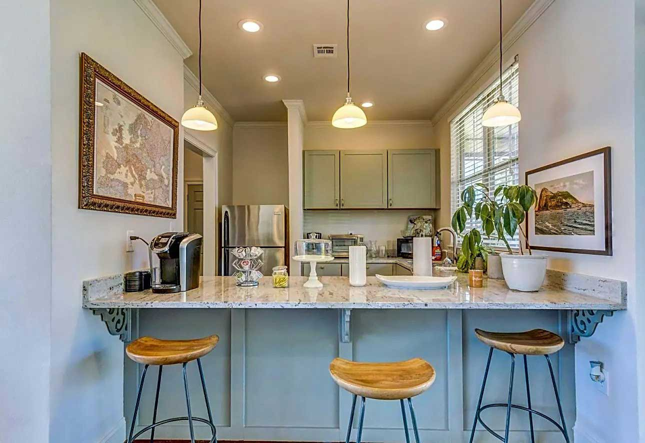 Breakfast Bar at Ardendale Oaks Apartments in Baton Rouge, Louisiana