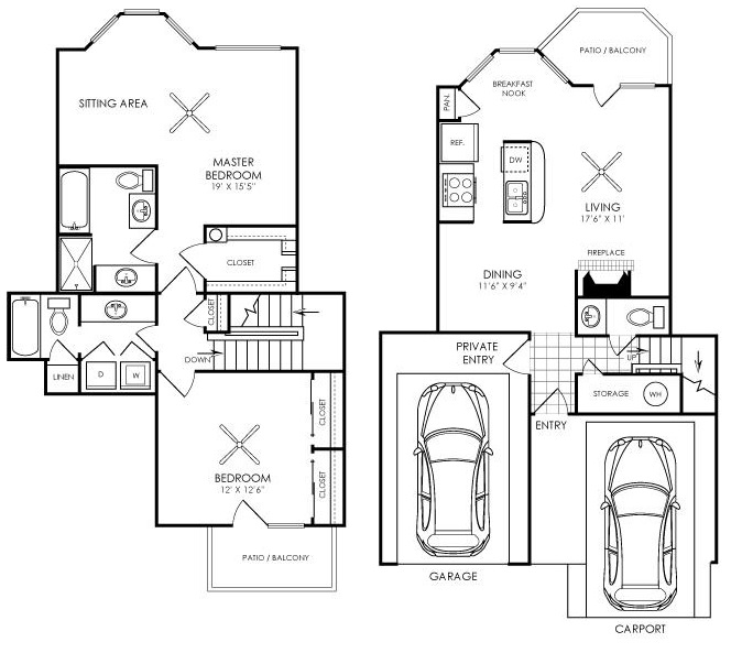 Ashford Apartments - Floorplan - B5