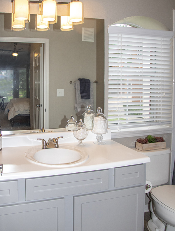 Single Vanity at Ashford Apartments in Carrollton, Texas