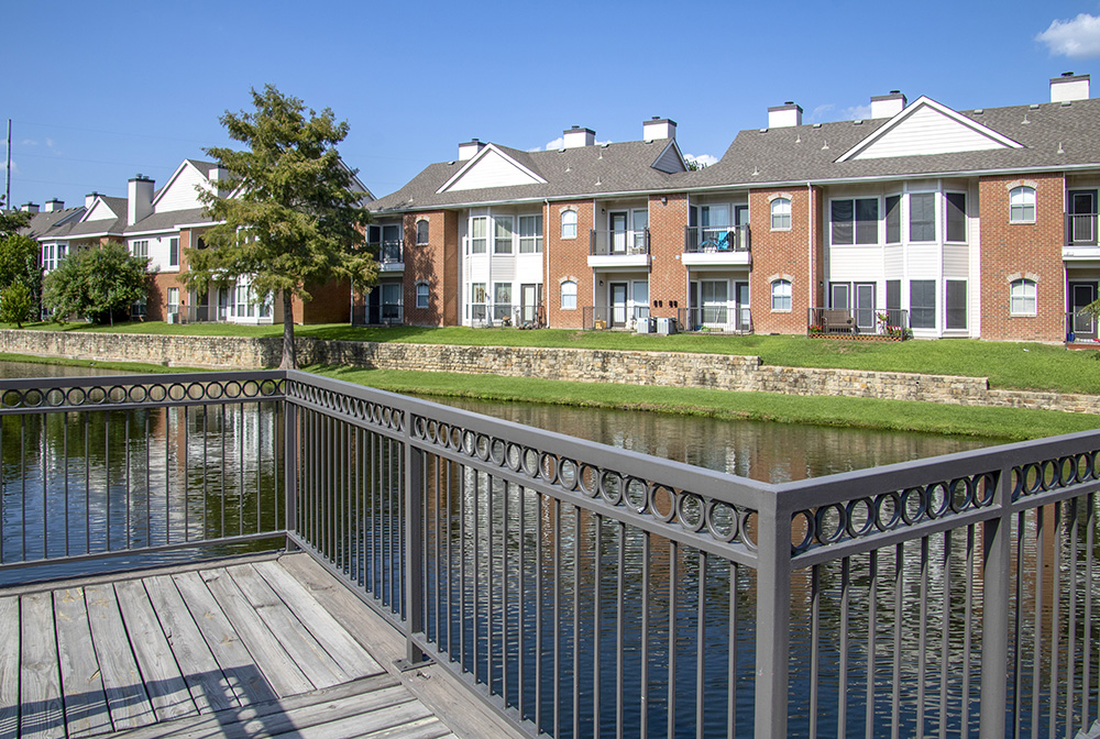 Fishing Lake at Ashford Apartments in Carrollton, Texas